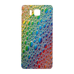 Bubbles Rainbow Colourful Colors Samsung Galaxy Alpha Hardshell Back Case by Amaryn4rt