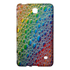 Bubbles Rainbow Colourful Colors Samsung Galaxy Tab 4 (7 ) Hardshell Case  by Amaryn4rt