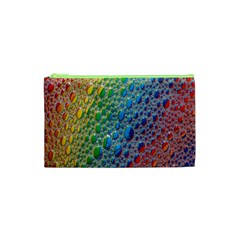 Bubbles Rainbow Colourful Colors Cosmetic Bag (xs) by Amaryn4rt