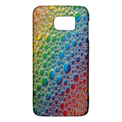 Bubbles Rainbow Colourful Colors Galaxy S6 by Amaryn4rt