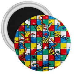 Snakes And Ladders 3  Magnets