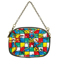 Snakes And Ladders Chain Purses (one Side)  by Amaryn4rt
