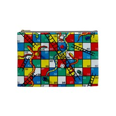 Snakes And Ladders Cosmetic Bag (medium)  by Amaryn4rt