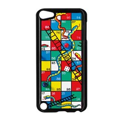 Snakes And Ladders Apple Ipod Touch 5 Case (black) by Amaryn4rt