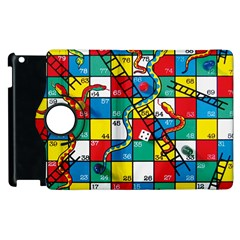 Snakes And Ladders Apple Ipad 2 Flip 360 Case by Amaryn4rt
