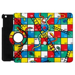 Snakes And Ladders Apple Ipad Mini Flip 360 Case