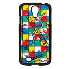 Snakes And Ladders Samsung Galaxy S4 I9500/ I9505 Case (black) by Amaryn4rt