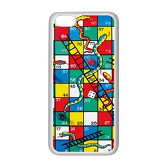 Snakes And Ladders Apple Iphone 5c Seamless Case (white) by Amaryn4rt