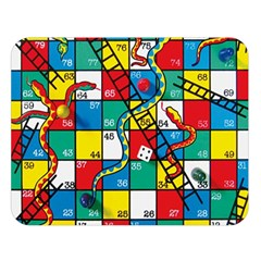 Snakes And Ladders Double Sided Flano Blanket (large)  by Amaryn4rt