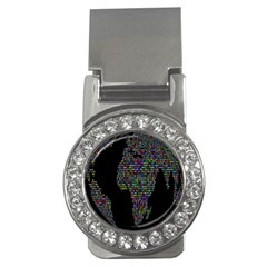 World Earth Planet Globe Map Money Clips (cz)  by Amaryn4rt