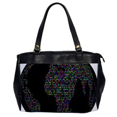 World Earth Planet Globe Map Office Handbags by Amaryn4rt