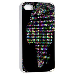 World Earth Planet Globe Map Apple Iphone 4/4s Seamless Case (white) by Amaryn4rt