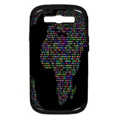 World Earth Planet Globe Map Samsung Galaxy S Iii Hardshell Case (pc+silicone) by Amaryn4rt