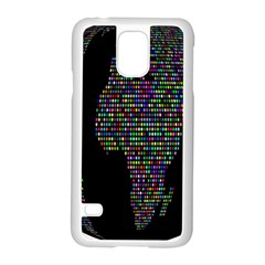 World Earth Planet Globe Map Samsung Galaxy S5 Case (white) by Amaryn4rt