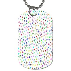 Pointer Direction Arrows Navigation Dog Tag (two Sides) by Amaryn4rt
