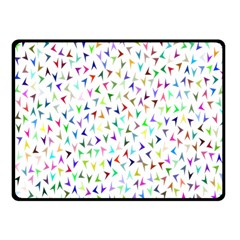 Pointer Direction Arrows Navigation Fleece Blanket (small) by Amaryn4rt