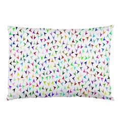 Pointer Direction Arrows Navigation Pillow Case (two Sides) by Amaryn4rt
