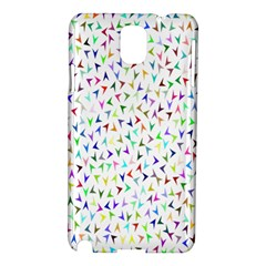Pointer Direction Arrows Navigation Samsung Galaxy Note 3 N9005 Hardshell Case by Amaryn4rt