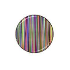 Striped Stripes Abstract Geometric Hat Clip Ball Marker by Amaryn4rt