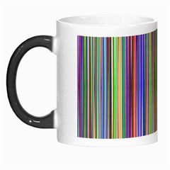 Striped Stripes Abstract Geometric Morph Mugs by Amaryn4rt