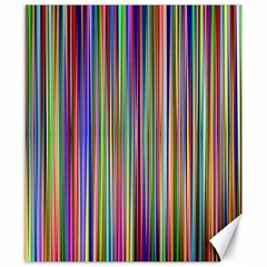 Striped Stripes Abstract Geometric Canvas 8  X 10  by Amaryn4rt