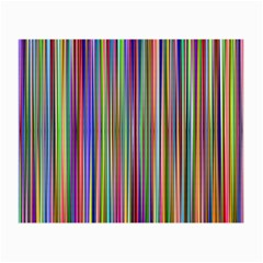 Striped Stripes Abstract Geometric Small Glasses Cloth (2 Side) by Amaryn4rt