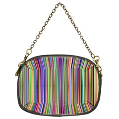 Striped Stripes Abstract Geometric Chain Purses (one Side)  by Amaryn4rt