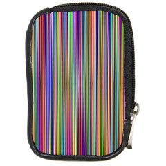 Striped Stripes Abstract Geometric Compact Camera Cases by Amaryn4rt