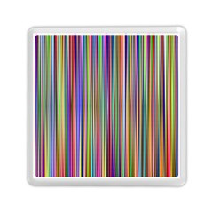 Striped Stripes Abstract Geometric Memory Card Reader (square)  by Amaryn4rt