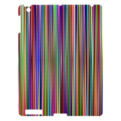 Striped Stripes Abstract Geometric Apple Ipad 3/4 Hardshell Case by Amaryn4rt