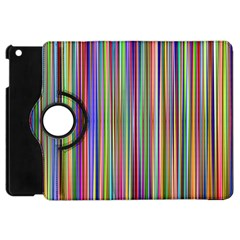 Striped Stripes Abstract Geometric Apple Ipad Mini Flip 360 Case by Amaryn4rt