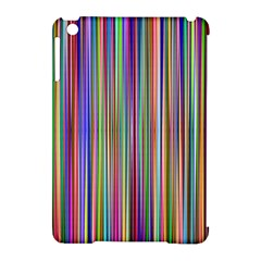 Striped Stripes Abstract Geometric Apple Ipad Mini Hardshell Case (compatible With Smart Cover) by Amaryn4rt