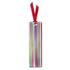 Striped Stripes Abstract Geometric Small Book Marks by Amaryn4rt