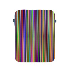 Striped Stripes Abstract Geometric Apple Ipad 2/3/4 Protective Soft Cases by Amaryn4rt