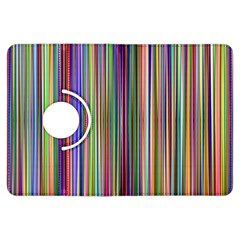 Striped Stripes Abstract Geometric Kindle Fire Hdx Flip 360 Case by Amaryn4rt