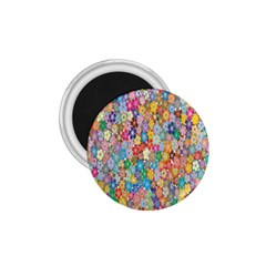 Sakura Cherry Blossom Floral 1 75  Magnets by Amaryn4rt