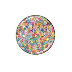 Sakura Cherry Blossom Floral Hat Clip Ball Marker (4 Pack) by Amaryn4rt