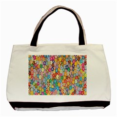 Sakura Cherry Blossom Floral Basic Tote Bag by Amaryn4rt