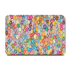 Sakura Cherry Blossom Floral Small Doormat  by Amaryn4rt