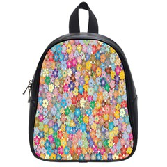 Sakura Cherry Blossom Floral School Bags (small)  by Amaryn4rt