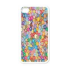 Sakura Cherry Blossom Floral Apple Iphone 4 Case (white) by Amaryn4rt