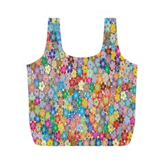 Sakura Cherry Blossom Floral Full Print Recycle Bags (m)  by Amaryn4rt