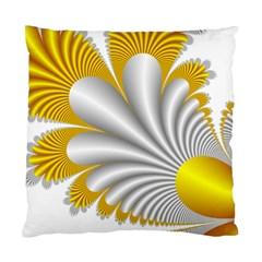Fractal Gold Palm Tree  Standard Cushion Case (one Side) by Amaryn4rt