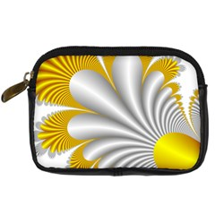 Fractal Gold Palm Tree  Digital Camera Cases by Amaryn4rt