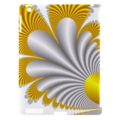 Fractal Gold Palm Tree  Apple Ipad 3/4 Hardshell Case (compatible With Smart Cover) by Amaryn4rt