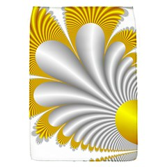 Fractal Gold Palm Tree  Flap Covers (s)  by Amaryn4rt