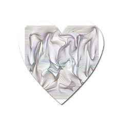 Abstract Background Chromatic Heart Magnet by Amaryn4rt