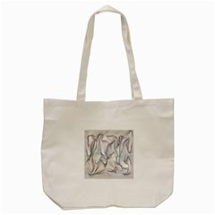 Abstract Background Chromatic Tote Bag (cream) by Amaryn4rt