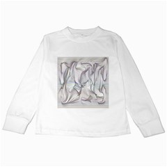 Abstract Background Chromatic Kids Long Sleeve T Shirts