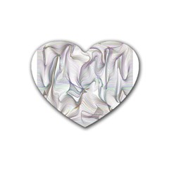 Abstract Background Chromatic Heart Coaster (4 Pack)  by Amaryn4rt
